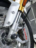 R&G Racing Fork Protectors for the Triumph Thruxton 1200 R 2016-2018 FP0188BK