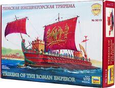 TRIREME ROMAN EMPEROR 1:72 9019 Zvezda plastic ship model kit NEW!