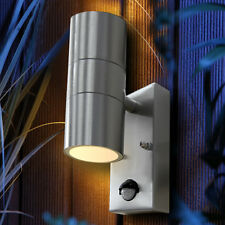 PIR Up Down Outdoor Wall Light Stainless Steel Light with Movement Sensor ZLC08