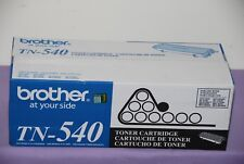 Genuine OEM Brother TN-540 Toner Cartridge for DCP8040, HL5140,5150D- New Sealed