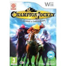 Nintendo WII Gioco CHAMPION Jockey 11 2011 Balance Board adatto NUOVO