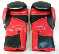 Century Drive Hook and Loop Training Boxing Gloves - Black/Red