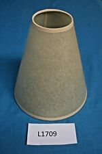 4 Beige Coloured Parchment Traditional Style Fabric Light Shades