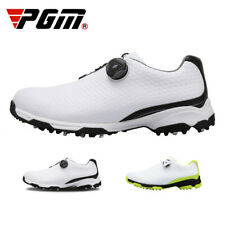 PGM Sports Golf Shoes Men Waterproof Non-Slip Rotating Buckle 3D Print Golf Shoe