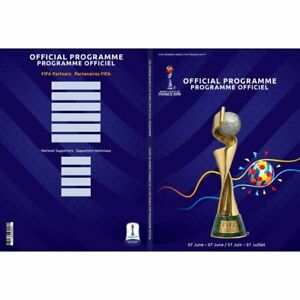 2019 FIFA Women's World Cup France Official Program Includes Full Match Schedule