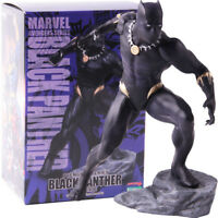 Marvel Avengers Series Black Panther PVC Artfx Statue Figure Model Toy