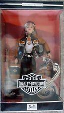 Nib Barbie Harley Davidson Doll 1999 Collector Edition