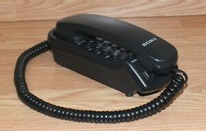 Genuine Sony (IT-B3) Black Single Line Corded Home Telephone **READ**