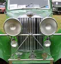 Talbot Bonnet Grille Boot 2421 A4 Photo Poster