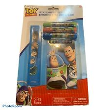 Toy Story  Stationery Set 5pc Birthday Party Supplies-Ruler,Notepad,Markers!New