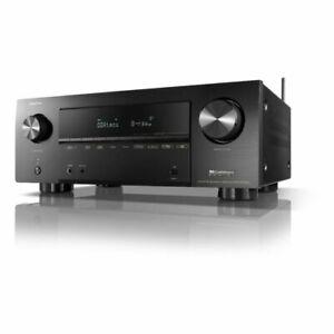 Denon AVR-X2700H 7.2-Channel 8K Ultra HD AV Surround Receiver Black 2020 New