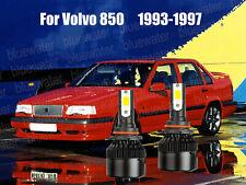 Led For Volvo 850 1993 1997 Headlight Kit 9006 Hb4 White Cree Bulbs Low Beam