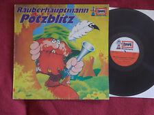 Räuberhauptmann Potzblitz       klasse Europa Kinderserie LP