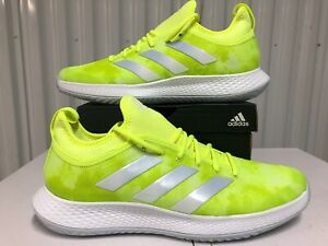 Adidas Defiant Generation Multicourt Tennis Shoes Solar Yellow Volt sz 11 FX7749