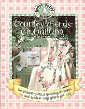 Gooseberry Patch Country Friends Go Quilting, Book 2, PB with Projects & Recipes