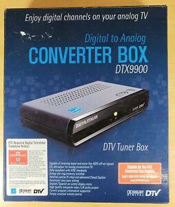 Digital Stream DTX9900 Digital-to-Analog DTV Tuner Converter Box NEW open box