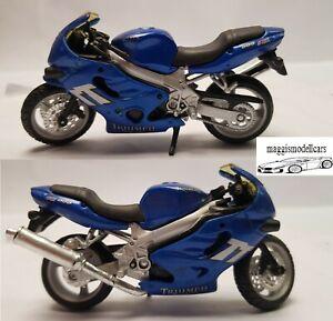 Triumph 600 Motorrad Modell aus Sammlung Maßstab 1:18 Maisto
