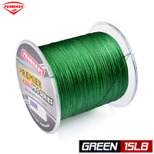 1pc 300M braided line Green Color Fishing Lines 15LB PE Braided Wire Sink Line