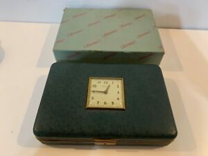 Vintage Farrington Jewelry 3 Section Box with New Haven Clock Keys Included