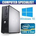Windows 10 Dell OptiPlex ordenador de Torre para PC De Escritorio Intel 4gb RAM