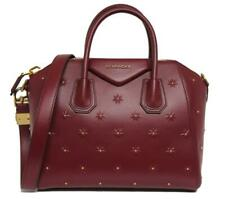 New $2990 Givenchy Small Red Midnight Stars Antigona Leather Bag