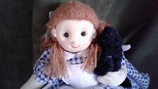 WIZARD OF OZ~~  Topsy Turvy Flip Doll Dorothy  &  Toto