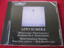 LEPO SUMERA - MUSICA TENERA - JARVI/RANDALU - BIS CD-690 (CD 1994 AUSTRIA) RARE