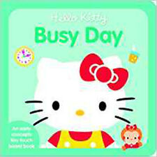 Hello Kitty Busy Day (Hello Kitty Tiny Touch), New, Sanrio Book