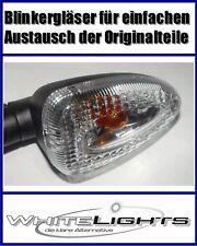 Blanco intermitente cristal BMW K 1200s R trasero claro Señal lentes