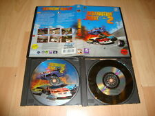 DESTRUCTION DERBY 2 DE PSYGNOSIS PARA PC USADO CON 2 DISCOS EN CAJA FINA
