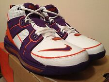 Nike Air Total Force Max Wht/Purple/Org Phoenix Suns Sz 13 DS NEW Kobe Zoom