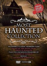 Most Haunted Collection (DVD, 2008,CD Included) #2-040-A, #3-030