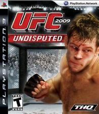 UFC Undisputed 2009 PS3 Great Condition Complete Fast Shipping