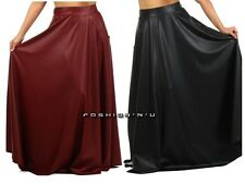 Faux Leather Long Skirts for Women | eBay