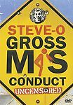 Steve-O - Gross Misconduct (DVD, 2005, Uncensored)