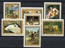Hungary 1969 SG#2449-2455 Paintings MNH Set #A65753