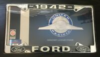 United Pacific A9049-37 License Plate Frame