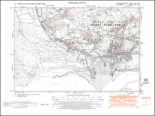 Wales 1950-1959 Date Range Antique Europe Sheet Maps