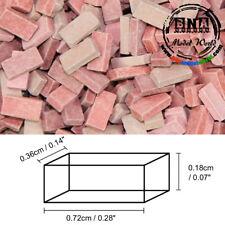 Juweela 1/35, 1/32 Bricks - Brick-Red Mix (Material: Ceramic) 500pcs