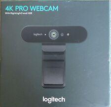 ✅*NEW SEALED* Logitech Brio PRO 4K ULTRA HD Webcam 960-001178