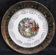 "Vintage Souvenir of VIRGINIA MINNESOTA 22k Gold Trim PLATE 10"" SABIN (AB410)"