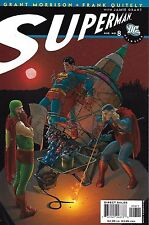 All Star Superman Comic Issue 8 Modern Age 2007 Grant Morrison Frank Quitely DC