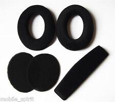 Replacement Ear Pads Cushion For Sennheiser HD515 HD555 HD595 PC360 w/Headband