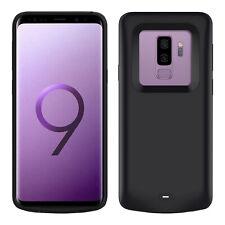 Coque Samsung Galaxy S9 Plus Protection Rigide 2 en 1 Batterie 5200mAh Noir
