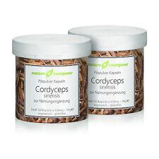 240 Cordyceps sinensis Pilzpulverkapseln von nature4everyone