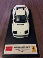 L Window Slightly Comes Off  Eidolon1/43 Koenig Ferrari Testarossa T.Turbo 1985