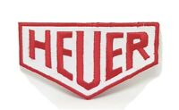 HEUER Motorsport Racing Iron Sew on Embroidered Patch