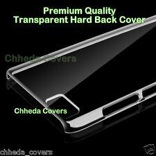 For Xiaomi MI 5 Premium Qualty Hard Crystal Transparent Back Cover Case For MI5