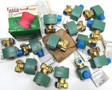 70 PCS ASCO RED HAT II Valve 0FSFX8262G9017611 1/4 2w NC 9925 8262G90 8262 8262g