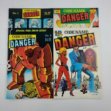 Codename Danger Full Run Issues 1-4